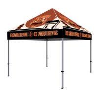10 ft. Aluminum Custom Printed Canopy Tent