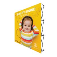 8 ft. Fabric Pop Up Display Graphic Package