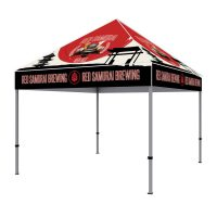 10 ft Steel Canopy Tent Graphic Package